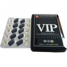 VIP male sexual stimulant (8 tabs and 8 caps)