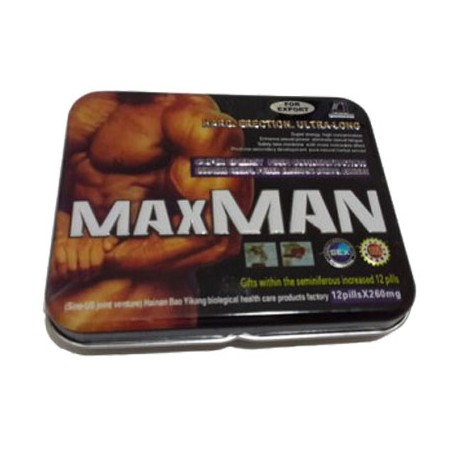 Maxman Ultra (12+12 tablets )