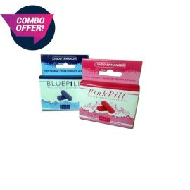 Blue & Pink Pill combo - you save 10%