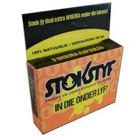 Stokstyf (Rockhard) (3 capsules)