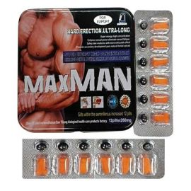 Maxman Ultra (12+12 tablets )