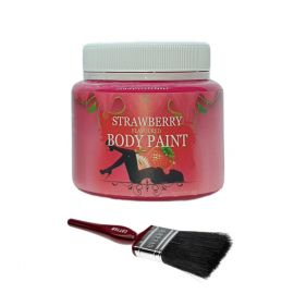 Delicious Sexy Strawberry Body Paint