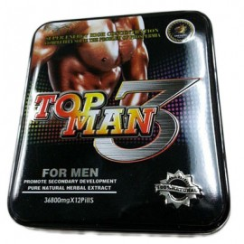 Topman 3 Super Male Erection Capsules